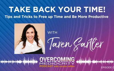 30: Taren Sartler on Take Back Your Time